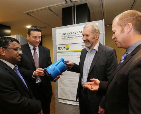 Sulzer Pumps Ireland & SEAM Technology gateway