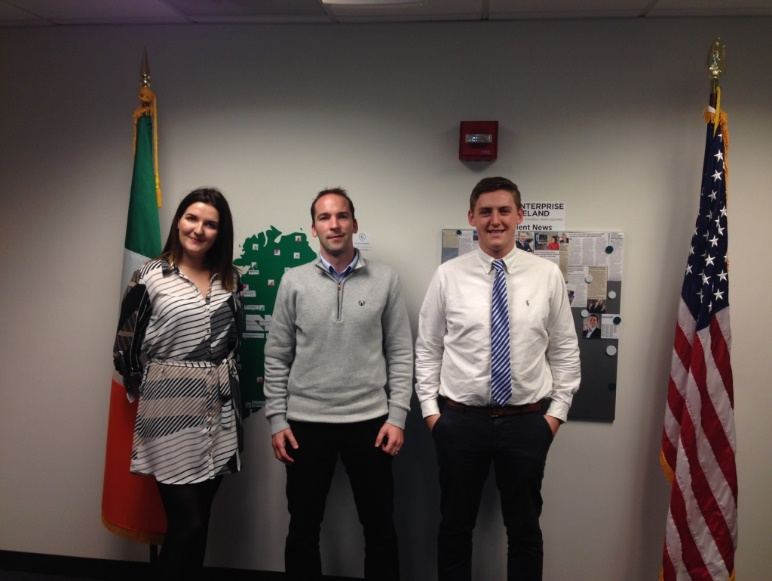 Meeting with Enterprise Ireland team