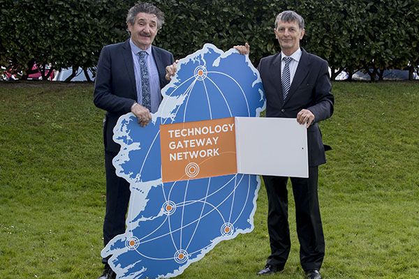 Technology Gateways Launch Minister John Halligan and Michael Hughes, Enterprise Ireland